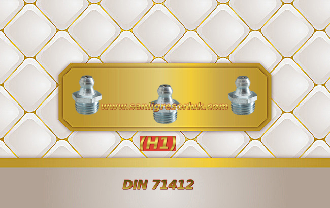 Düz Dişli Gresörlük (H1) DIN 71412 180 °
