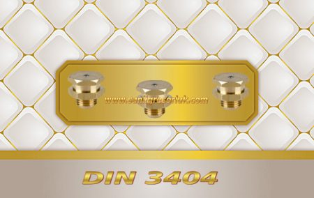Tekalamit Buton Baş Dişli Gresörlük M1 DIN 3404 Pirinç