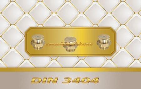 Buton Baş Dişli Gresörlük M1 DIN 3404 Pirinç