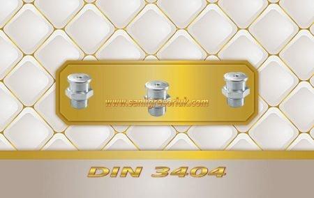 Buton Baş Gresörlük M22 DIN 3404 Çinko