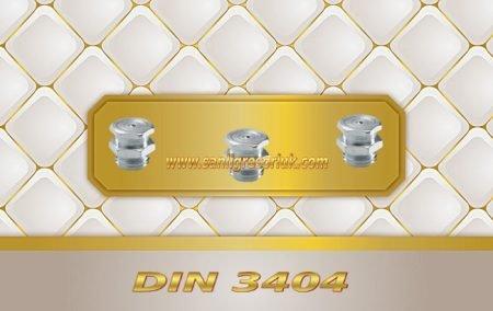 Buton Baş Gresörlük M1 DIN 3404 Galvaniz