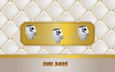 Çukur Başlı Eğri Tip Çakma Gresörlük K (D2a) DIN 3405