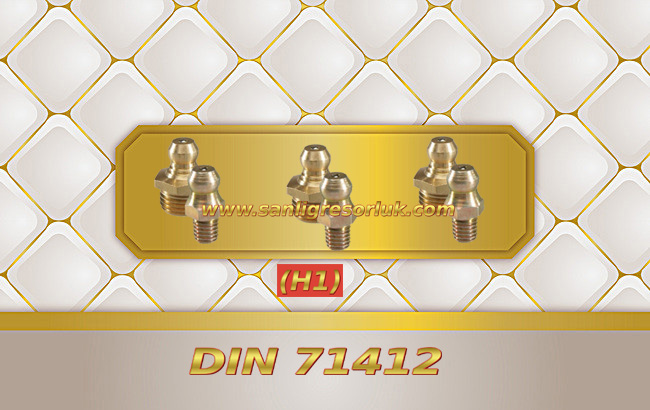 Düz Dişli Pirinç Gresörlük HR (H1) DIN 71412 180 °