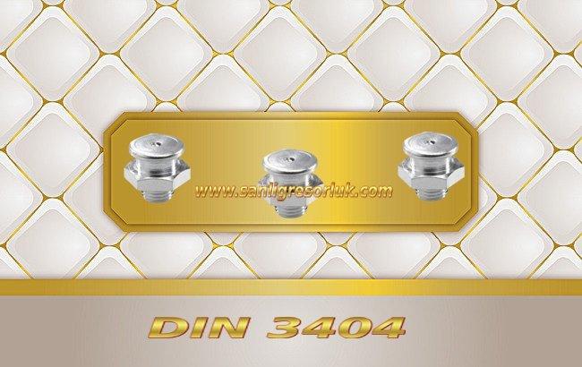 Tekalamit Buton Baş GresörlükM1 DIN 3404