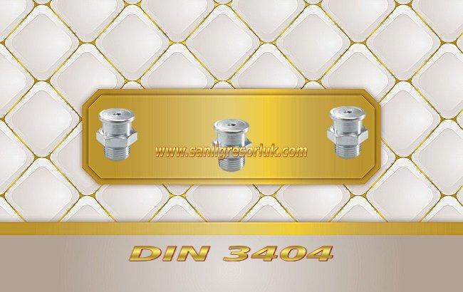 Tekalamit Buton Baş Dişli Gresörlük M22 DIN 3404 Galvaniz