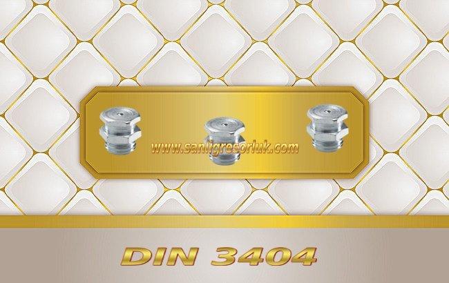 Tekalamit Buton Baş Dişli Gresörlük T1/B DIN 3404 Galvaniz