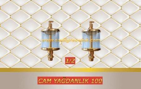 Cam Yağdanlık 100 mm.