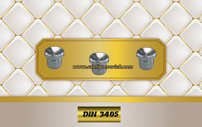 Flush Type greasenipple type N (D1a) DIN 3405