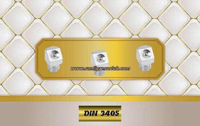 Flush Type greasenipple type K (D2) DIN 3405