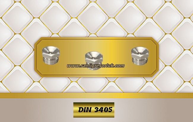 Flush Type greasenipple type L (D1) Stainless DIN 3405