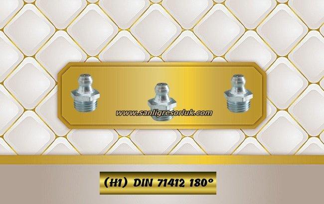 Hydraulic grease nipple HR (H1) DIN 71412