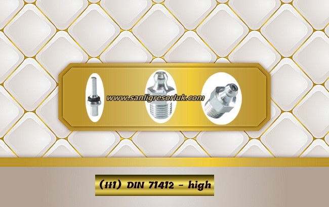 Hydraulic grease nipple HR (H1) DIN 71412 - high